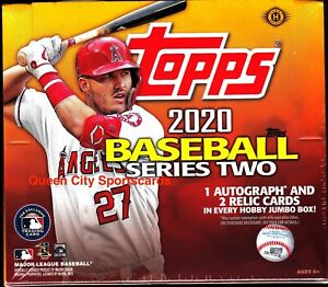 2020 Topps Series 2 Baseball Factory Sealed Jumbo Box