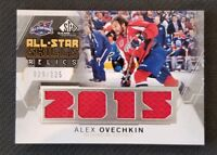 2015-16 SP GAME USED ALL STAR SKILLS RELICS JERSEY ALEX OVECHKIN #ED 29/125