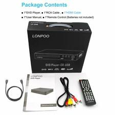 Lp-099 Multi Region Code Zone Free Pal/Ntsc Hd Dvd Player Cd Player w/ Hdmi &Usb