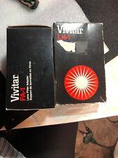 Vivitar Accessories Fa-1 Filter Adapter & Flash Lens Kit - In Box.