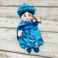 Disney Store Sleeping Beauty Movie Merryweather Fairy Soft Toy Plush