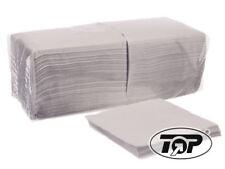 """4500 Prägeservietten Imbiss Papierservietten 1-lagig 33x33cm 1/4 Falz weiß """"TOP"""""""