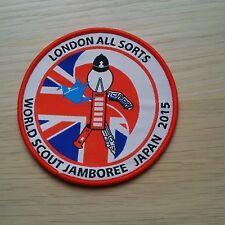 World Scout Jamboree Japan 2015 Badge - London All Sorts - Ace - Unit 73