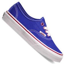 Scarpe VANS blu con tela per bambine dai 2 ai 16 anni