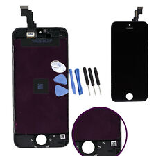 For iPhone 5C Black LCD Display Touch Screen Digitizer Replacement Repair Tools