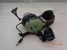 David Clark Military Headphones, Electronic Noise Supression (ENS), Warranty!