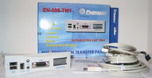 Enermax Multifunction Transfer Panel UC-006TM1S for Legacy PCs