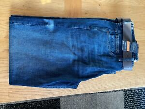BRAND NEW NEXT JEANS WITH BELT 34 REGULAR.STRAIGHT FIT