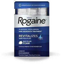 Men's Rogaine 5% Minoxidil Hair Regrowth Treatment Foam - 1/2/3 month