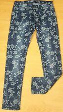 GUESS JEANS W 27 Taille 36 Superbe Jegging bleu femme jeans jean denim slim
