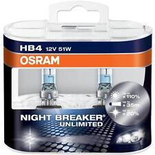 HB4 9006 OSRAM NIGHT BREAKER UNLIMITED +110% 12V 51W EXTRA LIGHT