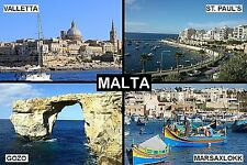 SOUVENIR FRIDGE MAGNET of MALTA