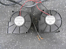 SOFASCO SF753012HW DC 12V 0.24A BRUSHLESS FAN LOT OF 2