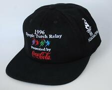 1996 Olympic Torch Relay Presented by Coca-Cola 100 Atlanta Baseball Cap Hat