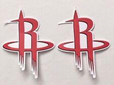 2x Houston Rockets Car Bumper Laptop Phone Wall Vinyl Die Cut Sticker Decal