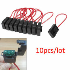 10pcs 30A Wire In-line 22 AWG ATO Standard Blade Fuse Holder Block for Car Boat
