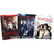 Scorpion: Complete Katharine McPhee TV Series Seasons 1 2 3 Box / DVD Set(s) NEW