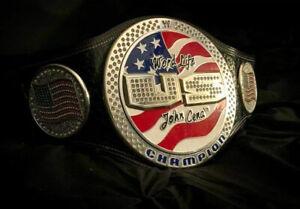 WWE US Championship Spinner Belt - John Cena - 5 Years Color Warranty - 4mm