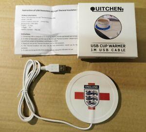 England USB Cup warmer.