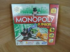 Hasbro Monopoly Junior Classic Kids Property Trading Board Game New Sealed