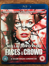 Milla Jovovich FACES IN THE CROWD ~ 2011 Psychological Thriller | UK Blu-ray