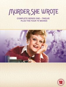 Murder She Wrote Series Season 1 2 3 4 5 6 7 8 9 10 11 12 + 4 Movies DVD Box Set