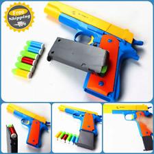 Classic Toy Gun Colt Pistol m1911 Kids Dart Guns Soft Bullet Outdoor Nerf Style