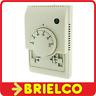 TERMOSTATO ELECTRONICO 220V 5ºC - 30ºC 1700W MAX BLANCO TERMISTOR NTC BD2778