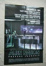 "Alien Nation - 1988 Original 27x41"" Original Movie Poster Sci-Fi James Caan"