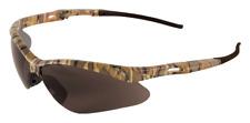 Bullhead Spearfish Safety Glasses Sunglasses Eyewear Brown Lens Camouflage Frame