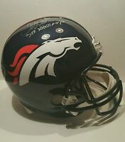 Terrell Davis Signed Denver Broncos Full Size Helmet Insc SBXXXIIMVP JSA-W COA