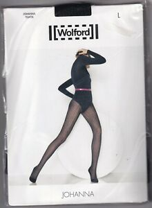 Collant WOLFORD JOHANNA coloris Mocca. Taille L. Tights.