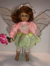 "Vintage 12"" Porcelain Fairy Doll"