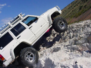 KIT EXTENSIONS D'AILES JEEP CHEROKEE XJ ( 1984 - 2001 )