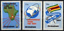 Zimbabwe 1984 SG#636-8 Int. Trade Fair MNH Set #D50882