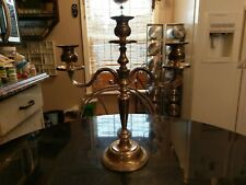 Gorgeous Vintage 3 Candle Table Candelabra