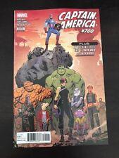 Captain america #700 Marvel 2018 NM 9.4 Unread