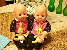 Gi Go 14� Baby Doll Twins for Play or Reborn