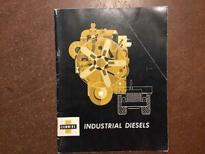 1959 CUMMINS  IndustrIal Diesel Engines Sales Brochure ~ 40 pages