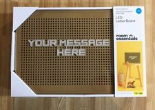 Led Letter Board Room Essentials Gold