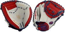 "Rawlings PROSP13-23 32.5"" Heart Of The Hide Patriot Baseball Catchers Mitt"