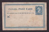 Canada Victoria Postcard Postal Card Unused