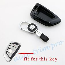 Black Key Bag Holder Case Shell Ring Box Cover Fit For BMW X1 X5 X6 F48 F15 F16