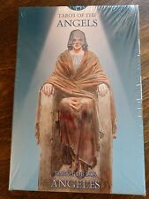 SEALED! Tarot Of The Angels Deck, Book & Velvet BAG! 2008 Lo Scarabeo *HEAVENLY*