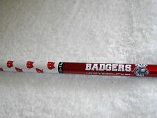 NEW/Taylormade/R9-460 Collegiate/ Driver Golf Shaft/Wisconsin Badgers/Reg Flex/