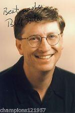 Bill Gates ++Autogramm++ ++Microsoft++