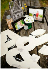 """Wedding Guestbook Letters- All 3 pieces- 18"""" high-Your Initials!"""
