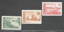 CANADA STAMPS #465-465B -- (3) CENT'L ISSUE HIGH VALUES -- MINT