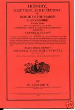 HISTORY ETC OF BURGH LE MARSH LINCOLNSHIRE 1826-1892