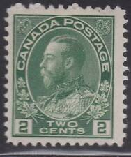"Canada 1922 #107 King George V ""Admiral"" Issue MH Fine"